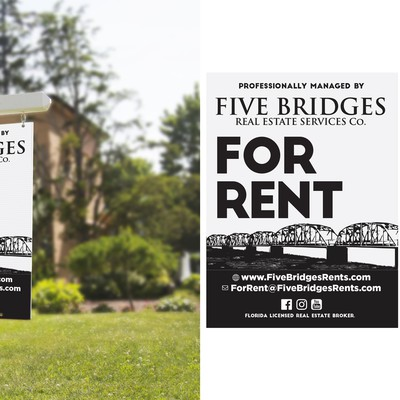 Design A Memorable Real Estate Sign | Five Bridges Real Estate Services