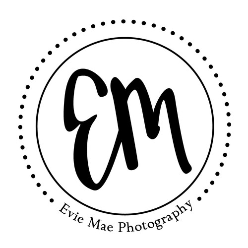 Welcoming logo with the title 'Logo Concept for Photography Business'
