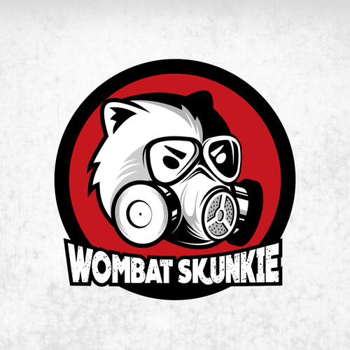 Eyewear design with the title 'Logo concept for Wombat Skunskie'
