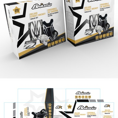 Brian's Deluxe Street Hockey Goalie Set