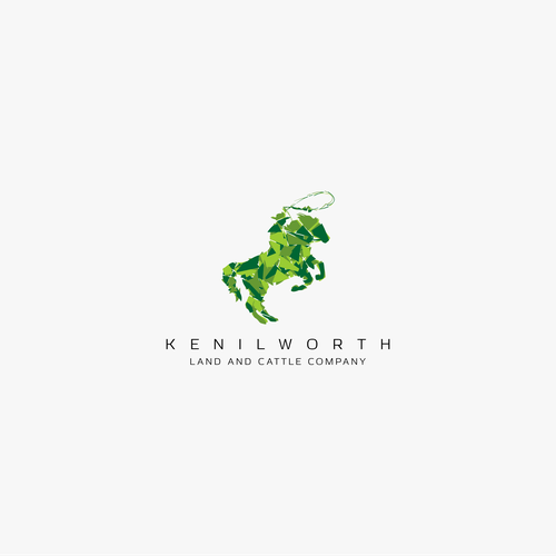 Horse brand with the title 'Kenilworth Land and Cattle Company (Winner)'