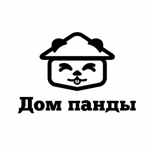 Russian design with the title 'logo for children'