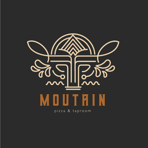 Legendary logo with the title 'Mountain Pizza & Taproom '