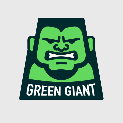 Angry logo with the title 'Green Giant'
