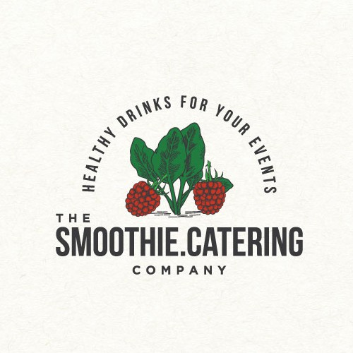 Smoothie design with the title 'Logo design for smoothie catering company '