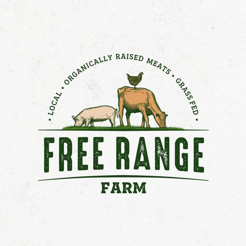 Angus logo with the title 'Free Range Farm'