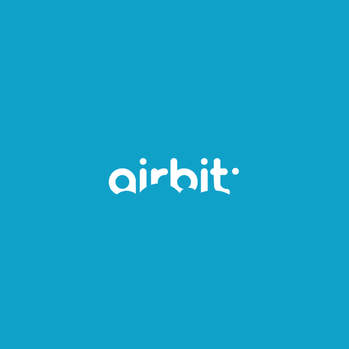 Drummer logo with the title 'airbit'