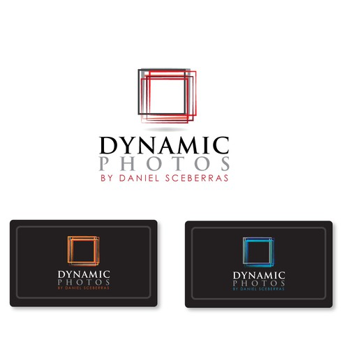 Imaginative logo with the title 'Dynamic Photos'