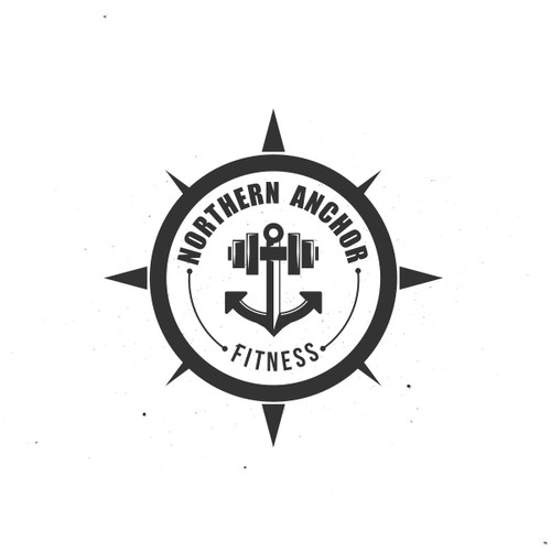 Anchor design with the title 'Nothern Anchor Fitness'
