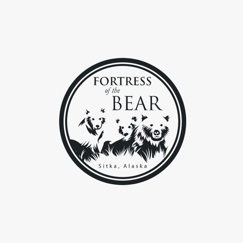 Alaska design with the title 'Logo Design for Fortress Of The Bear'