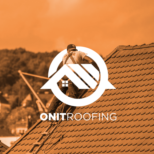 Roofing logo with the title 'ONIT Roofing'