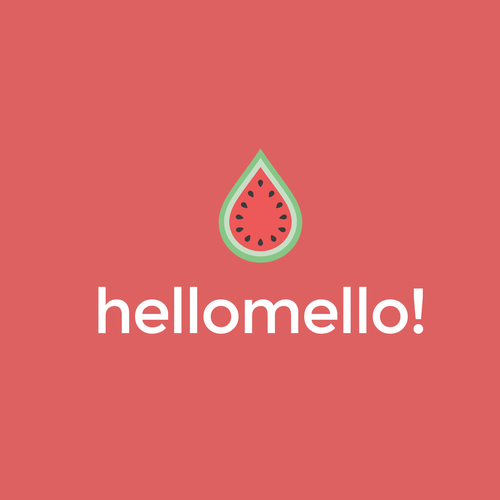 Fruit brand with the title 'hello mello'