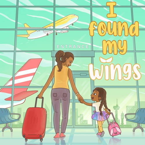 Flight design with the title 'I found my wings '