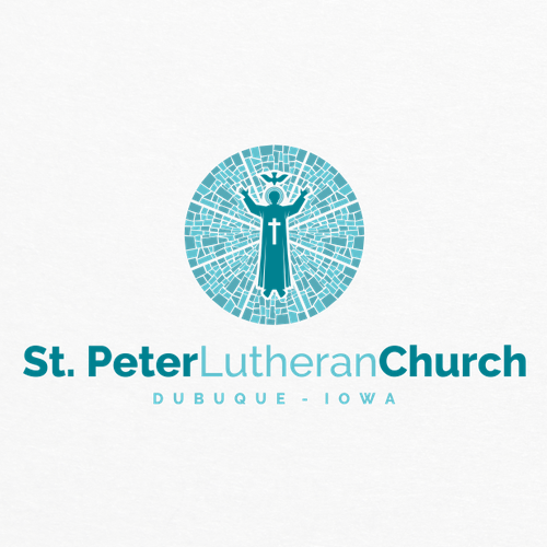 Faith logo with the title 'logo for St. peter lutheran church'