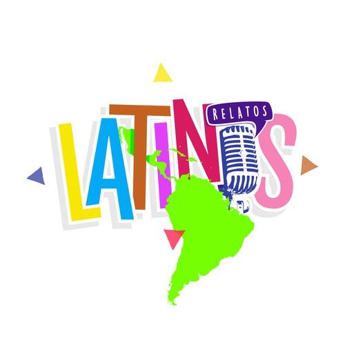 Latino logo with the title 'Relatos LATINOS'