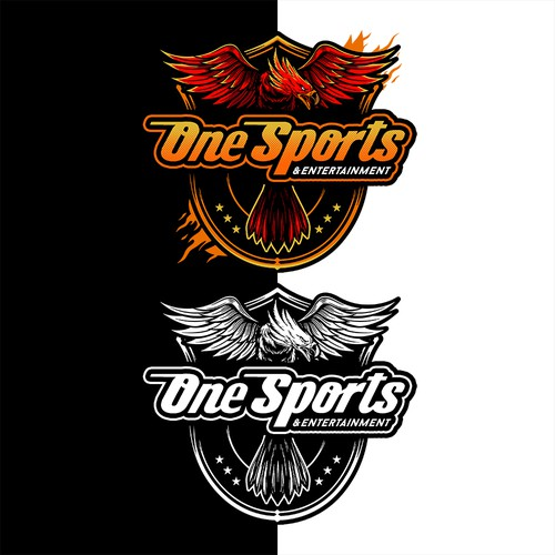 Emblem brand with the title 'One Sports & Entertainment'