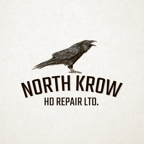Blackbird logo with the title 'North Krow'