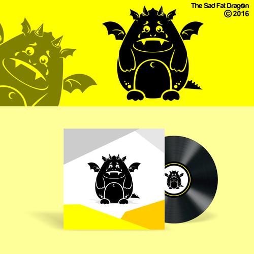 Sad design with the title 'Dragon'