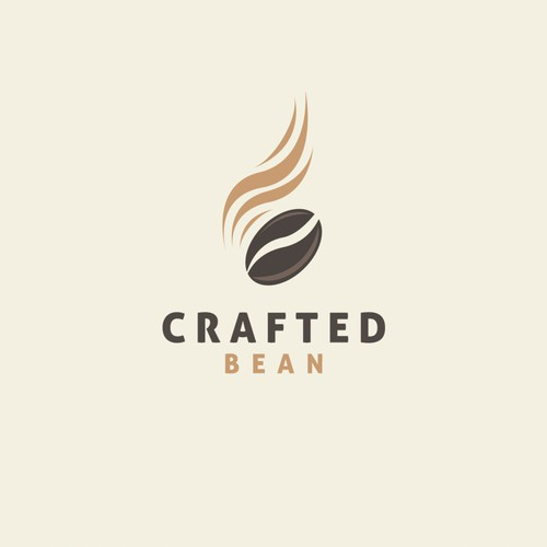 Espresso logo with the title 'Crafted Bean'