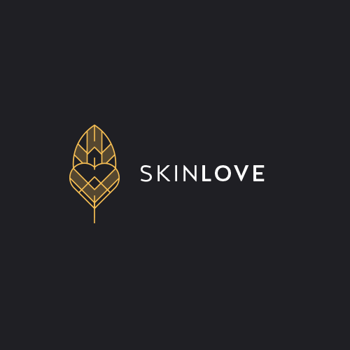 Skincare logo with the title 'Logo For Skinlove'