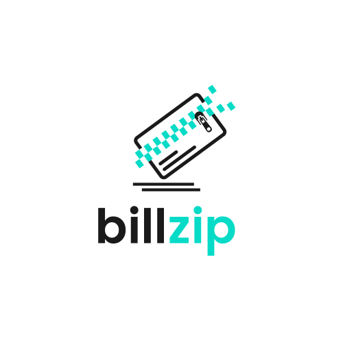 Zip logo with the title 'Bill Zip'