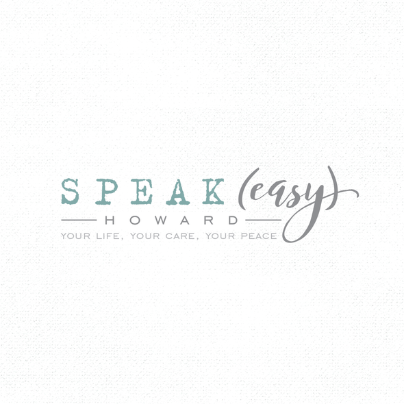 Death logo with the title 'Speak Easy'