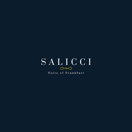 Serif design with the title 'Bold logo concept for Salicci'