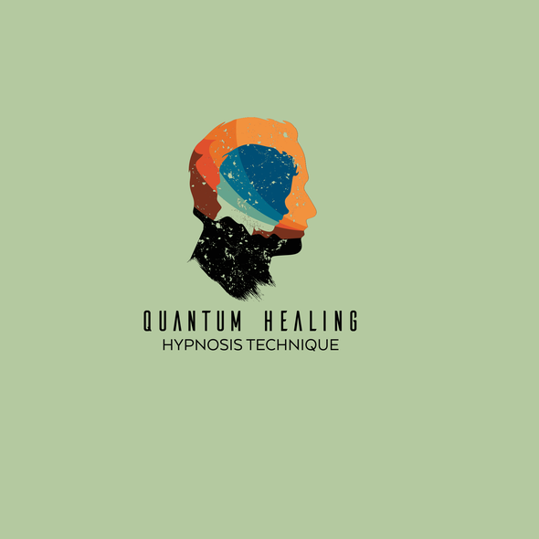 Mysterious logo with the title 'Quantum Healing Hypnosis Technique'