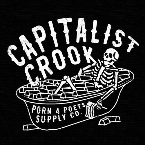 Skeleton design with the title 'Vintage illustration for merchandise'