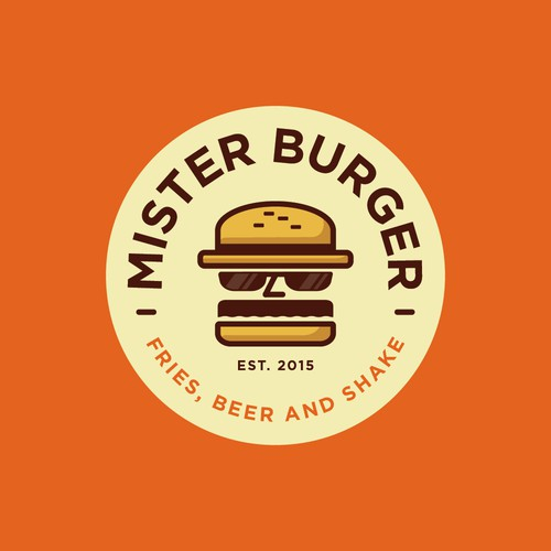Burger Logos The Best Burger Logo Images 99designs