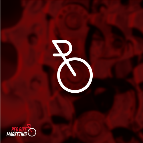 Bike design with the title 'Logo design for Red Bike Design'