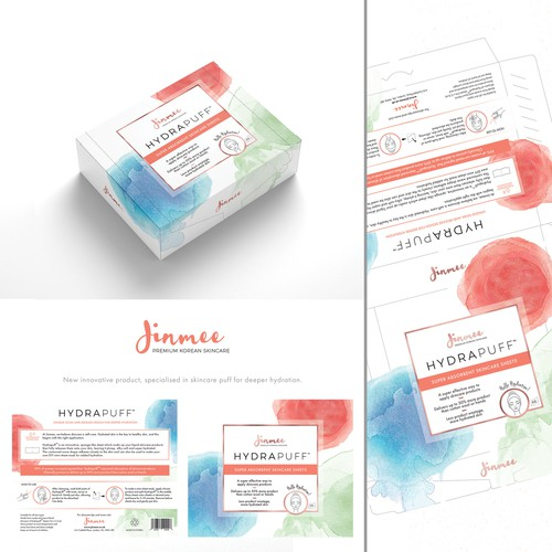 Logo packaging with the title 'Carton box Packaging for new innovative cosmetic brand.'
