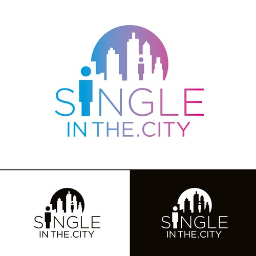 Friendship design with the title 'SingleInThe.City'