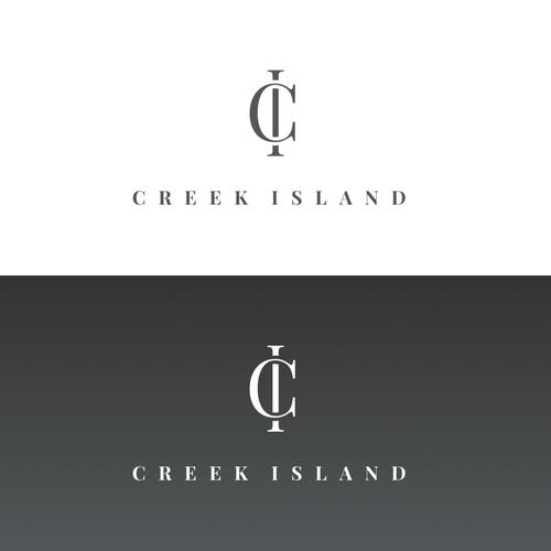 Dubai design with the title 'Creek Island'