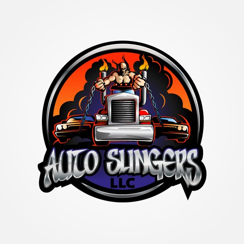 Epic logo with the title 'Logo for Auto Slingers LLC'
