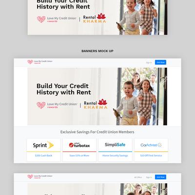 Rental Kharma | Webpage Banner Design
