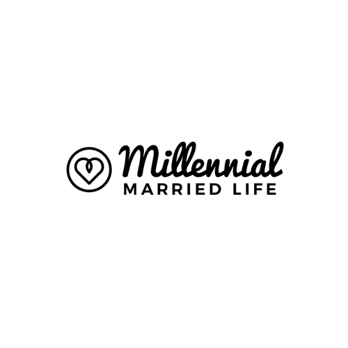 "Generation logo with the title 'Logo draft for ""Millennial Married Life""'"
