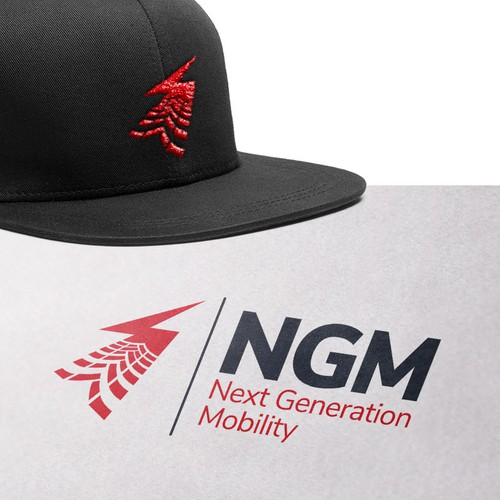Volt logo with the title 'Logo for NGM.'