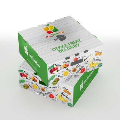 Professional Design for Cardboard Fruit Box Packaging