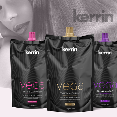 Specialised hair product packaging