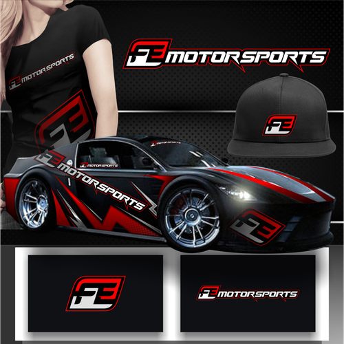 Sticker and decal logo with the title 'Motorsport workshop needs a new Logo'