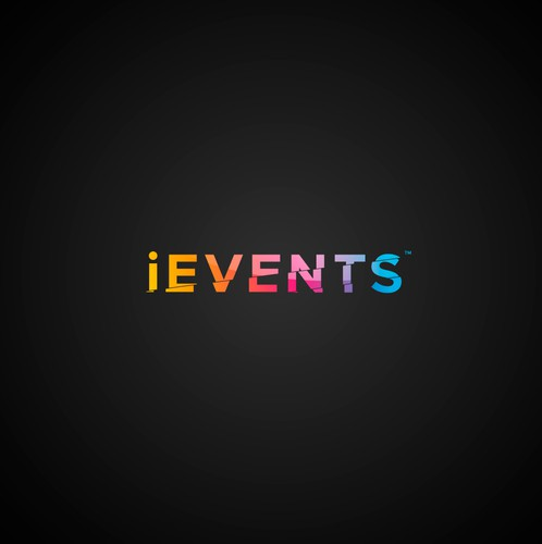 Event logo with the title 'iEvents'