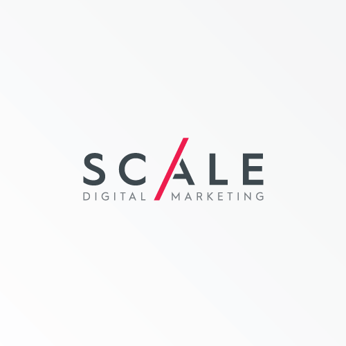 Digital logo with the title 'Logo for Scale Digital Marketing'