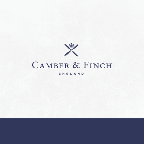 Serif logo with the title 'High-end logo for lifestyle clothing brand'