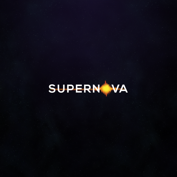 Burst logo with the title 'SUPERNOVA'