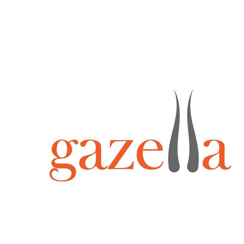 Gazelle logo with the title 'Help us (Gazella) find our future logo. It will be published in nationwide news ads!'