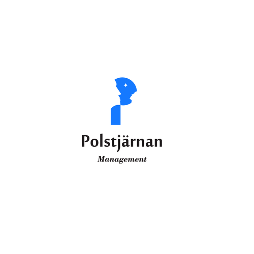 Management consulting logo with the title 'Logo concept for consulting company'