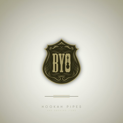 Irrigation logo with the title 'Classy logo Concept for BYO Hookah Pipes'