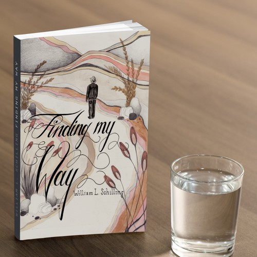 Unique book cover with the title 'Finding My Way'