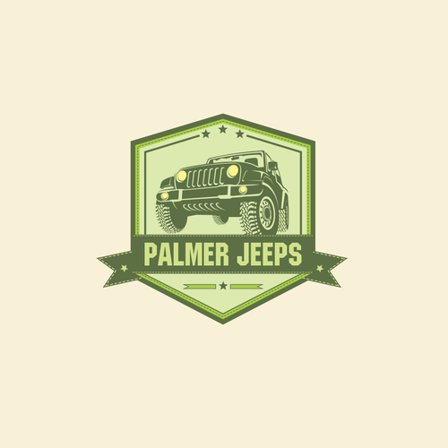 ATV logo with the title 'Palmer Jeeps'